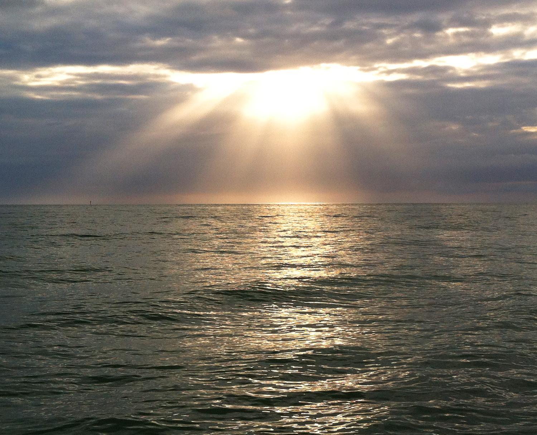 sunset rays MGD©